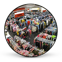 Instore Security - Convex Mirrors